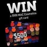 Win $500 worth of MAC cosmetic