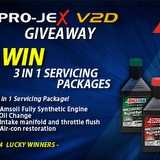 Win 3 in 1 servicing package worth $1,000