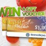 Win a $1,000 Sheng Siong Vouchers