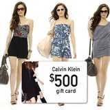 Win a $500 Calvin Klein Gift Card