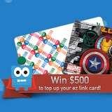 Win a $500 ez link top up