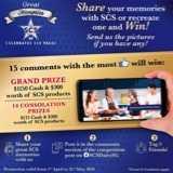 Win a Grand Prize $1150 Cash